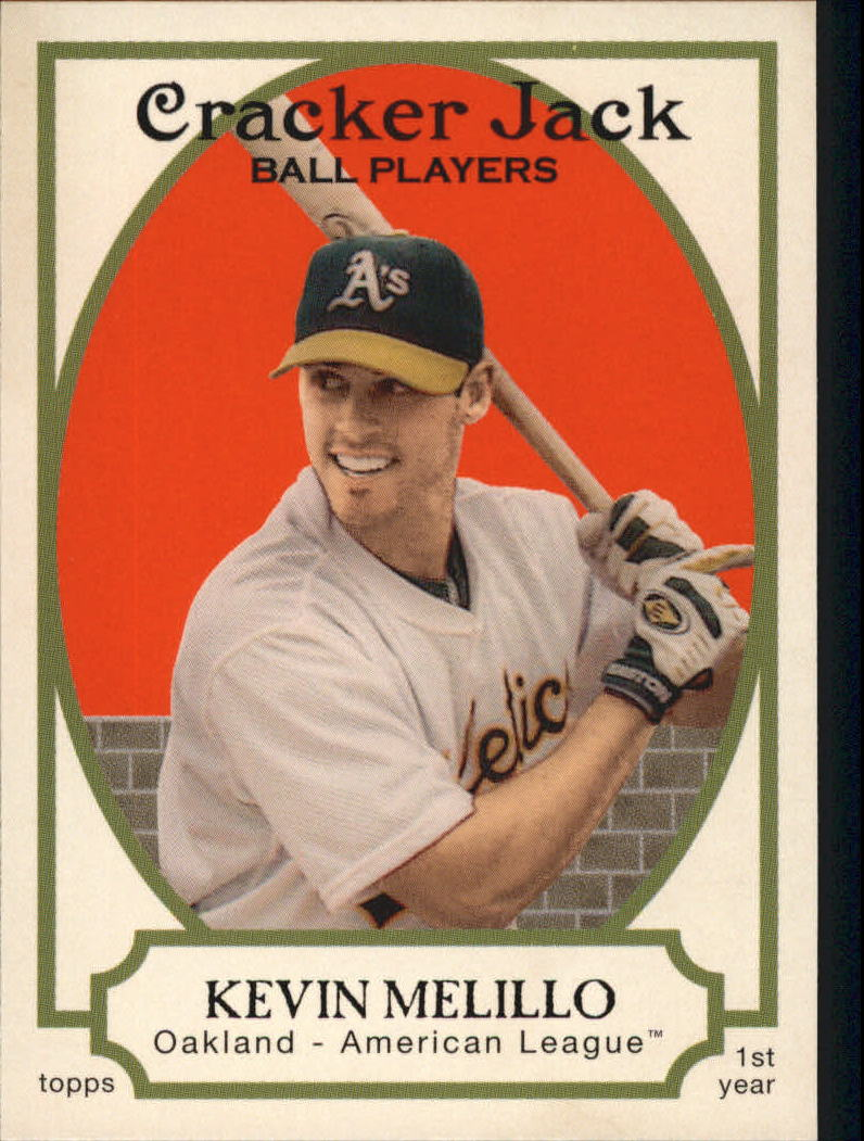 2005 Topps Cracker Jack #217 Kevin Melillo RC