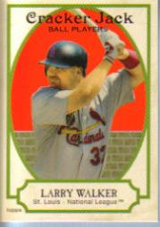 2005 Topps Cracker Jack #226 Larry Walker SP
