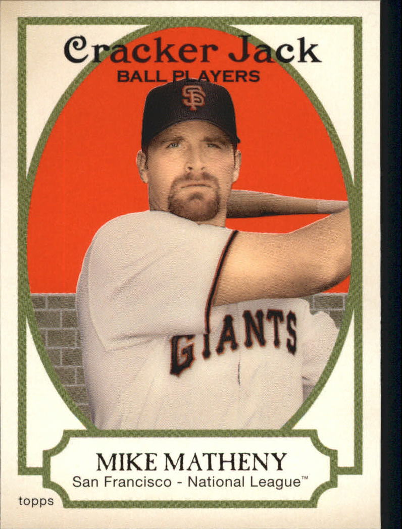 2005 Topps Cracker Jack #228A Mike Matheny Giants