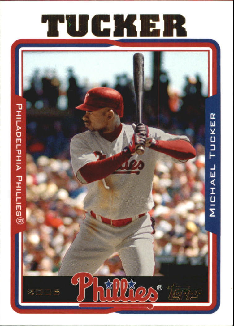2005 Topps Update #4 Michael Tucker