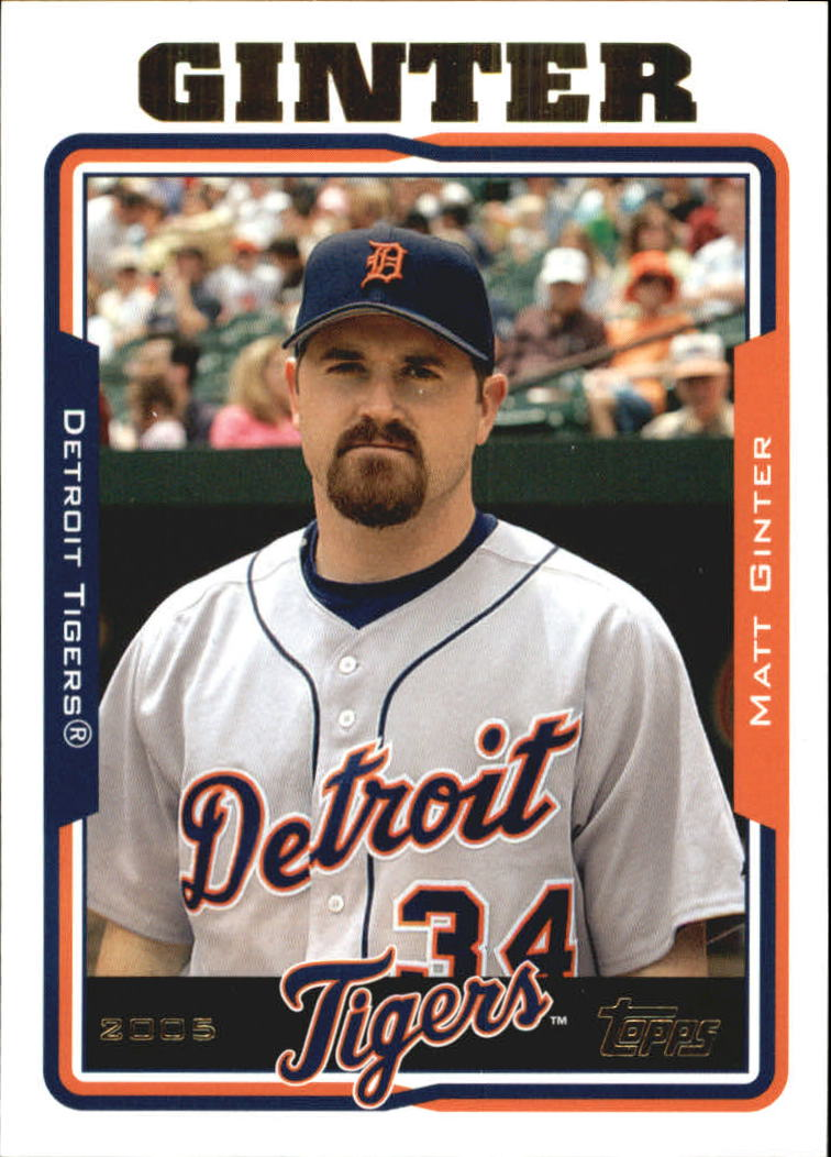 2005 Topps Update #19 Matt Ginter