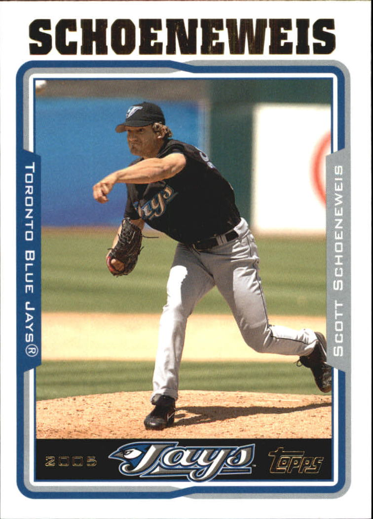 2005 Topps Update #26 Scott Schoeneweis