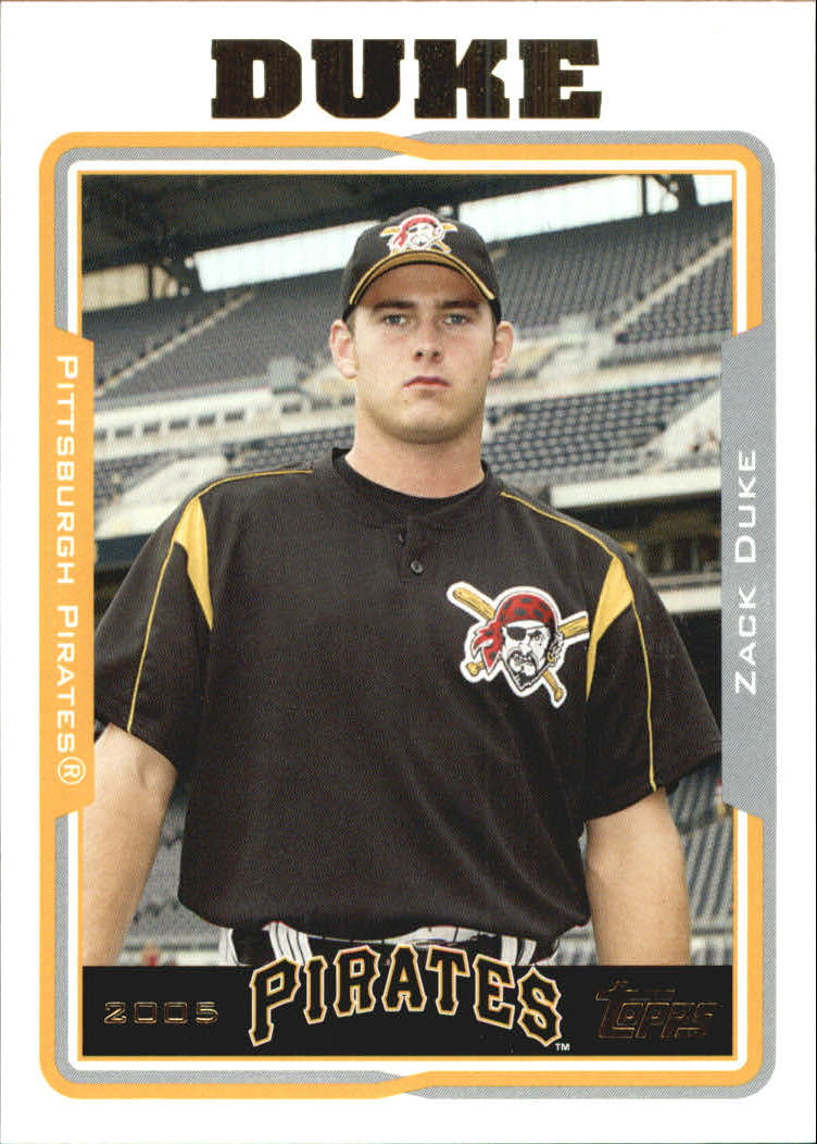 2005 Topps Update #38 Zach Duke