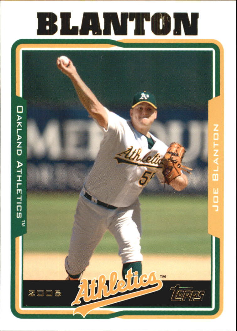 2005 Topps Update #53 Joe Blanton