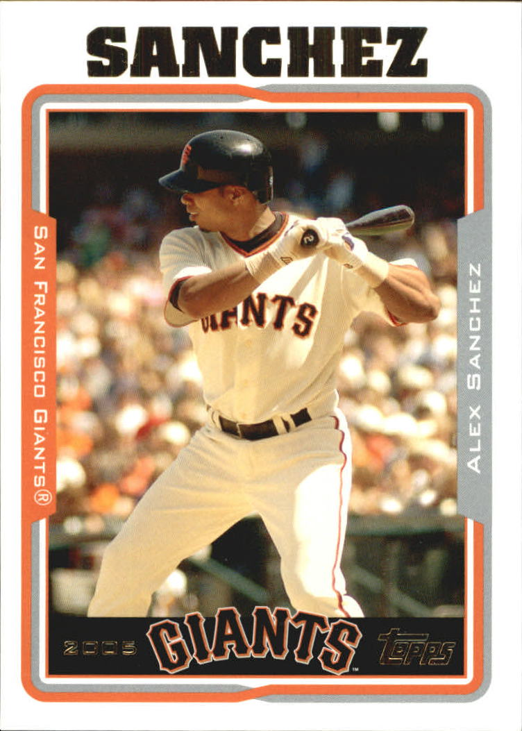 2005 Topps Update #56 Alex Sanchez