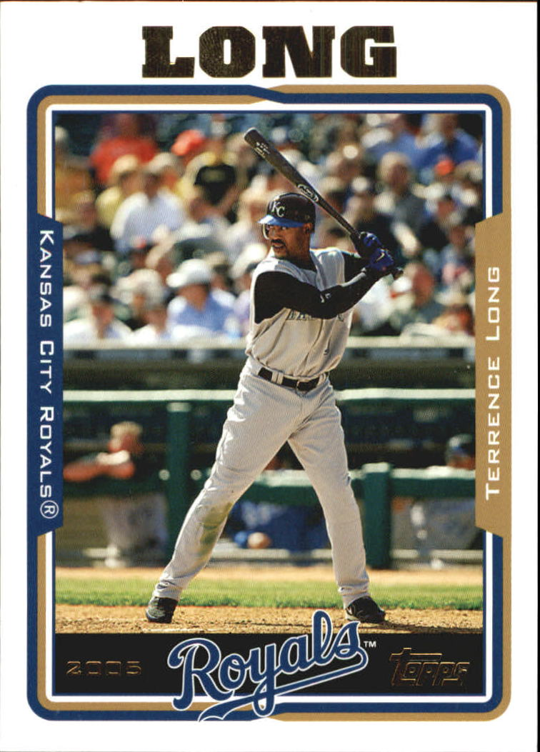 2005 Topps Update #60 Terrence Long