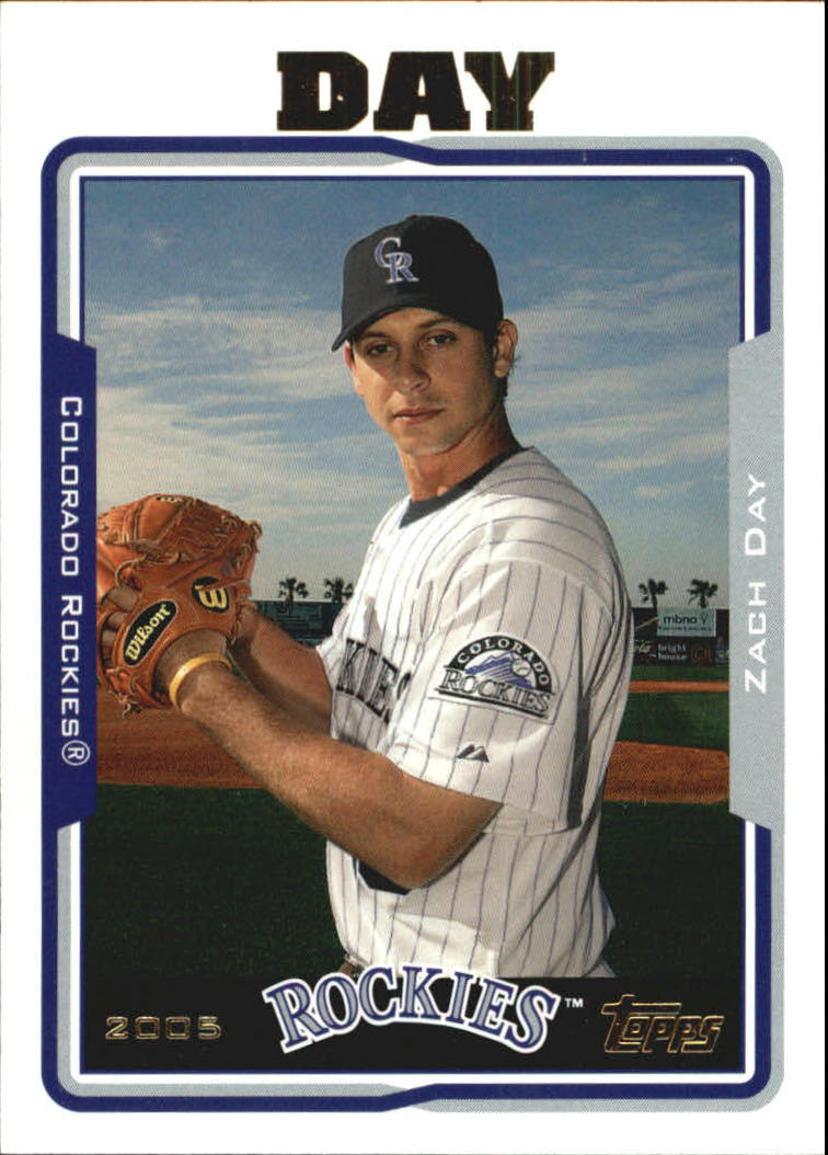 2005 Topps Update #74 Zach Day