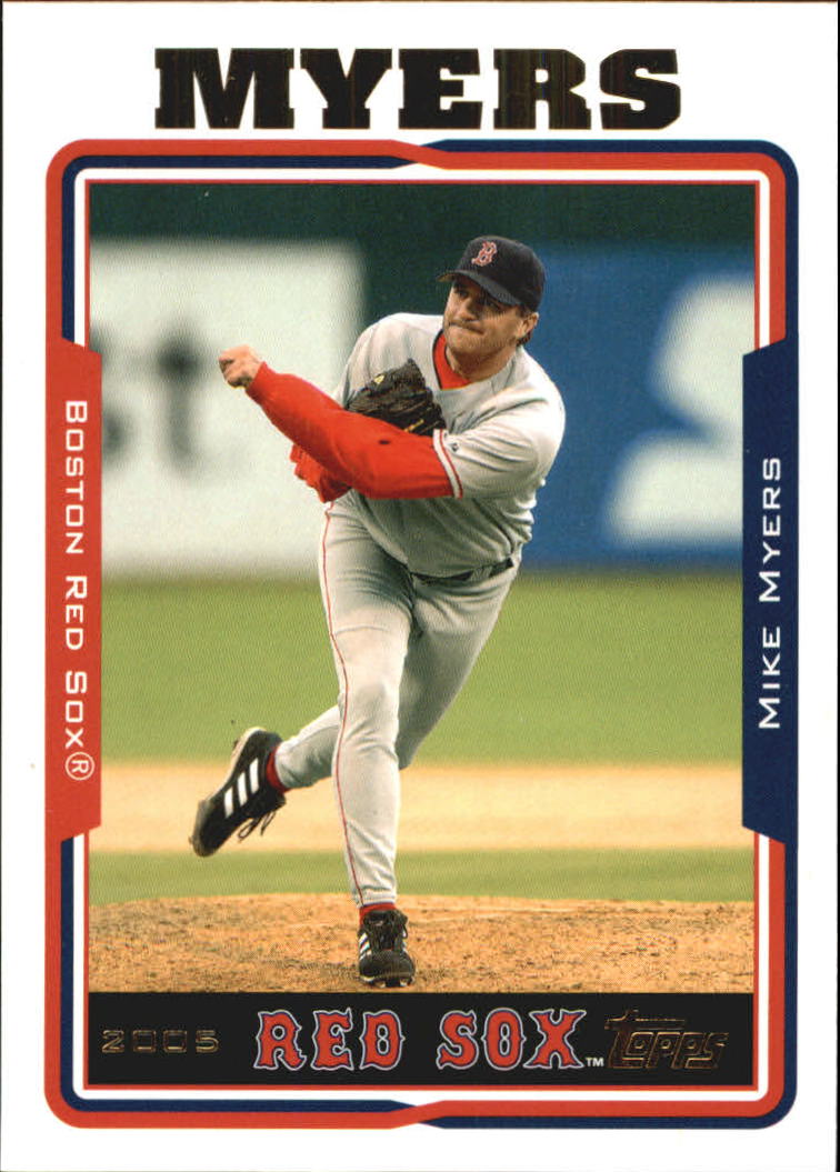 2005 Topps Update #76 Mike Myers