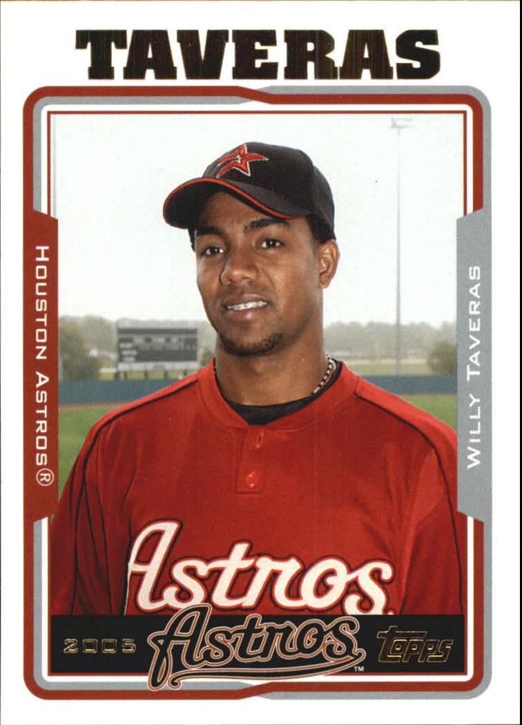 2005 Topps Update #83 Willy Taveras