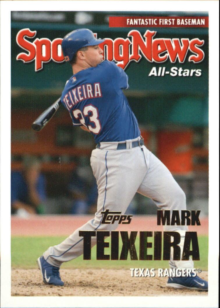 2005 Topps Update #147 Mark Teixeira AS