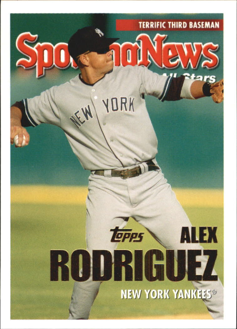 2005 Topps Update #150 Alex Rodriguez AS front image