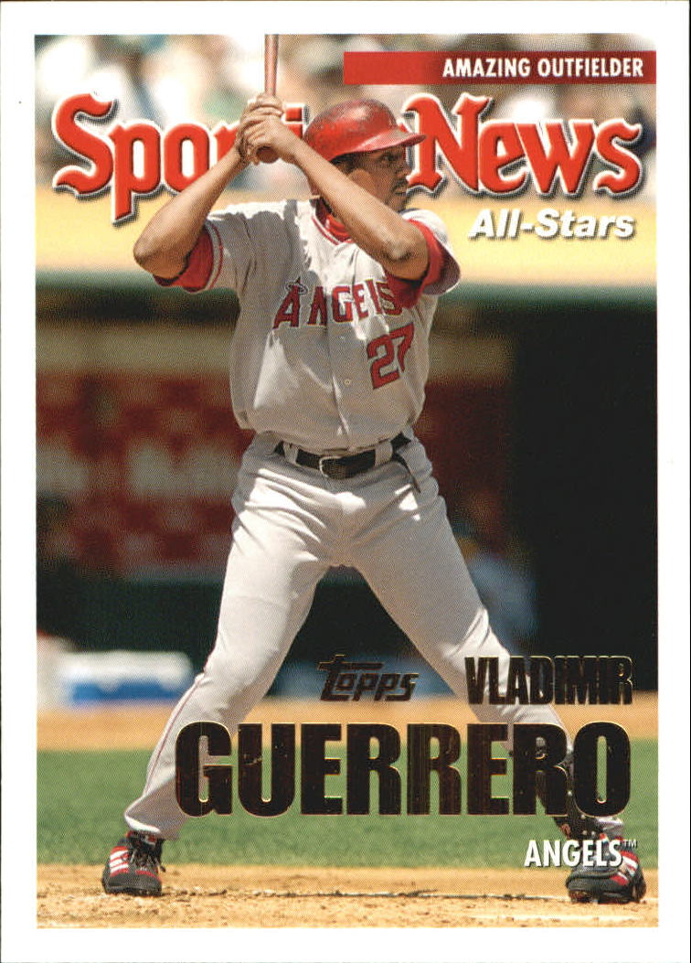 2005 Topps Update #152 Vladimir Guerrero AS