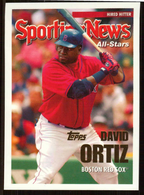 2005 Topps Update #154 David Ortiz AS