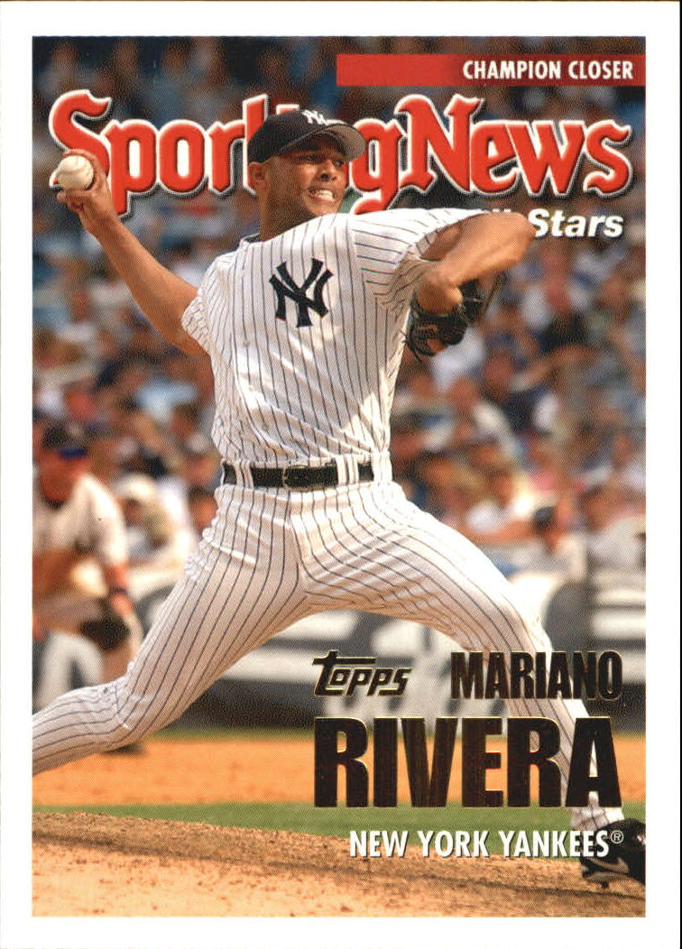 2005 Topps Update #155 Mariano Rivera AS