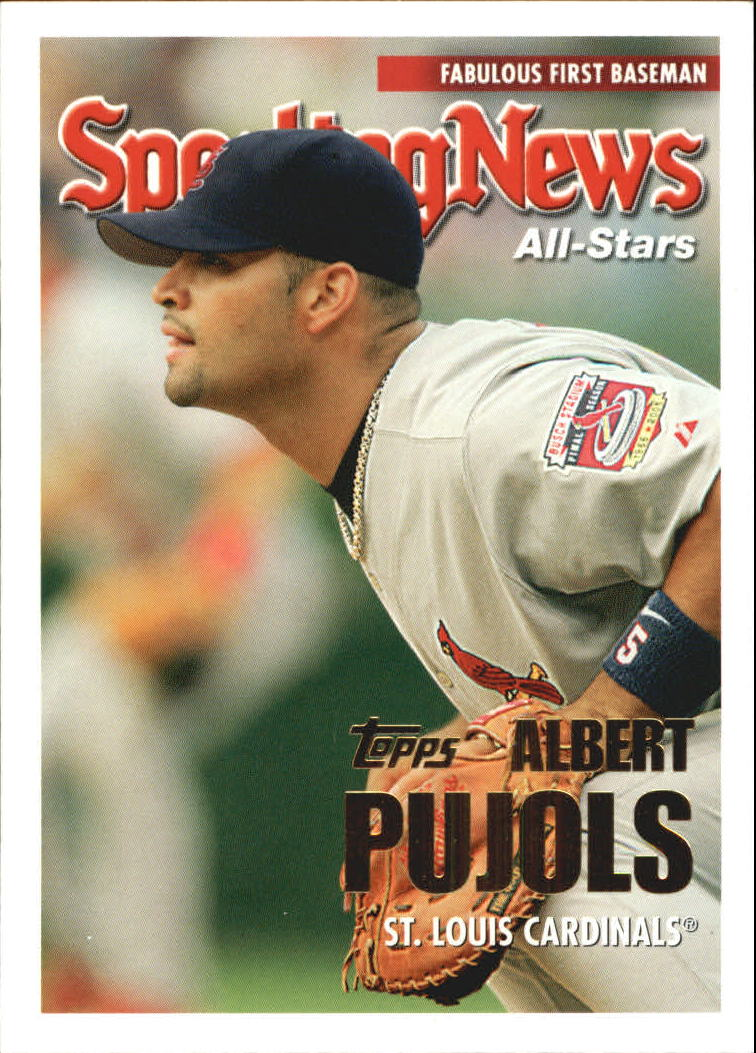2005 Topps Update #157 Albert Pujols AS