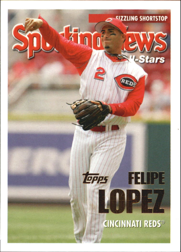 2005 Topps Update #159 Felipe Lopez AS