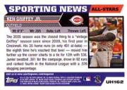 2005 Topps Update #162 Ken Griffey Jr. AS back image