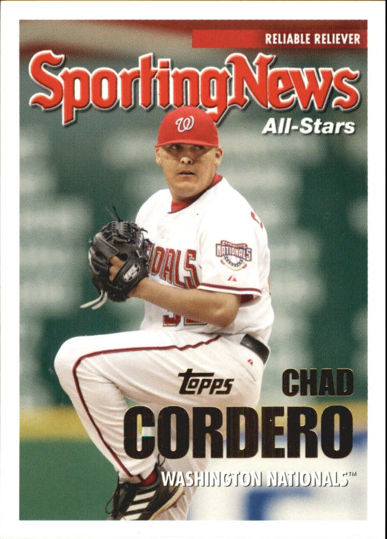 2005 Topps Update #165 Chad Cordero AS