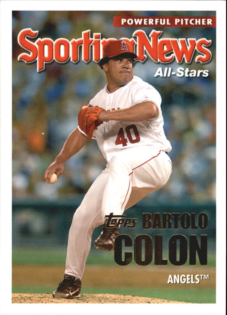2005 Topps Update #171 Bartolo Colon AS