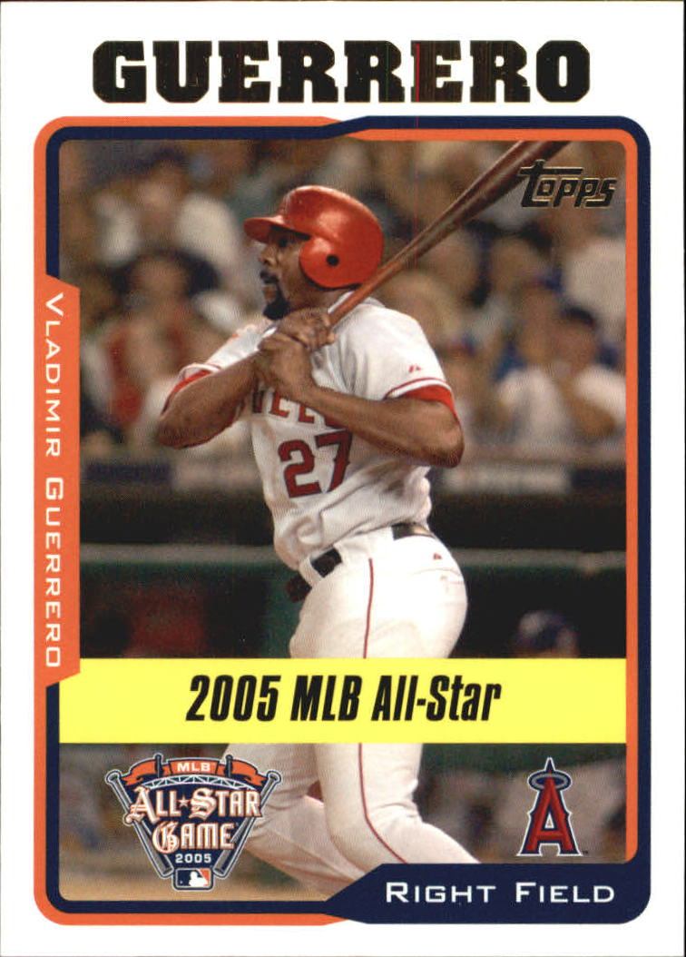 2005 Topps Update #180 Vladimir Guerrero AS