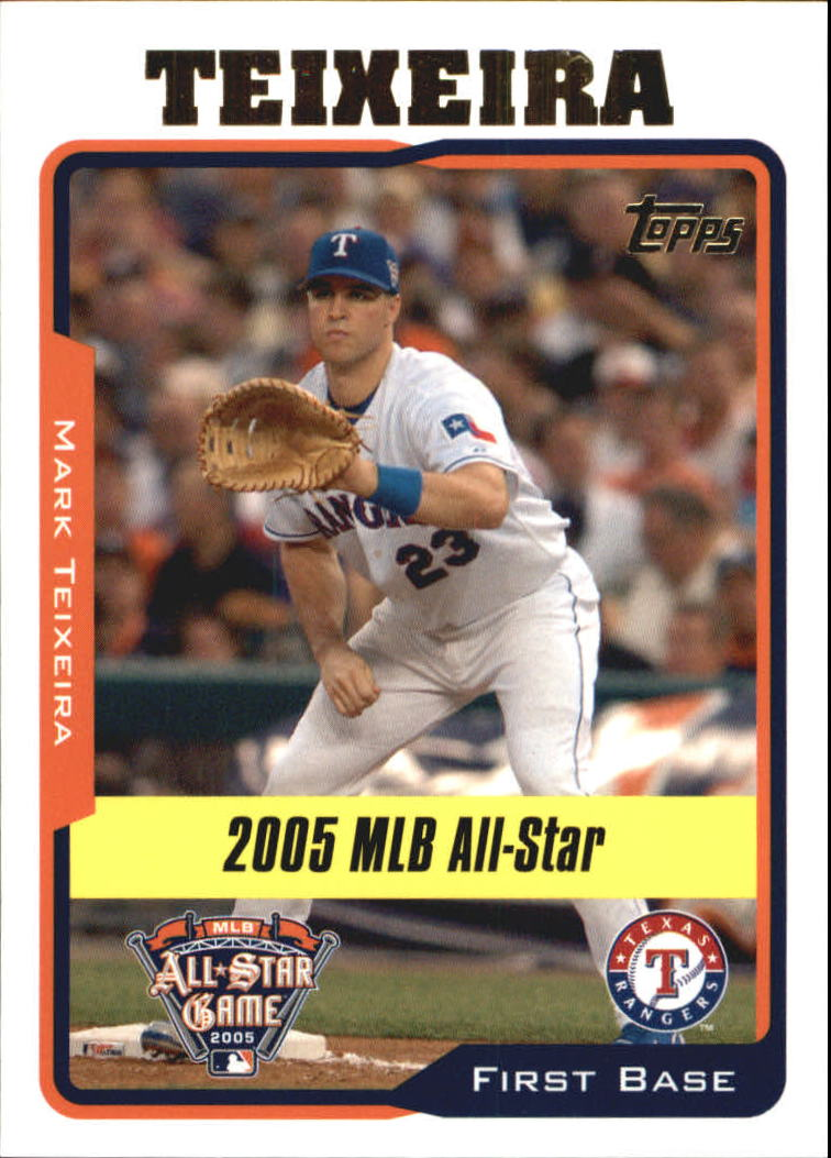 2005 Topps Update #181 Mark Teixeira AS