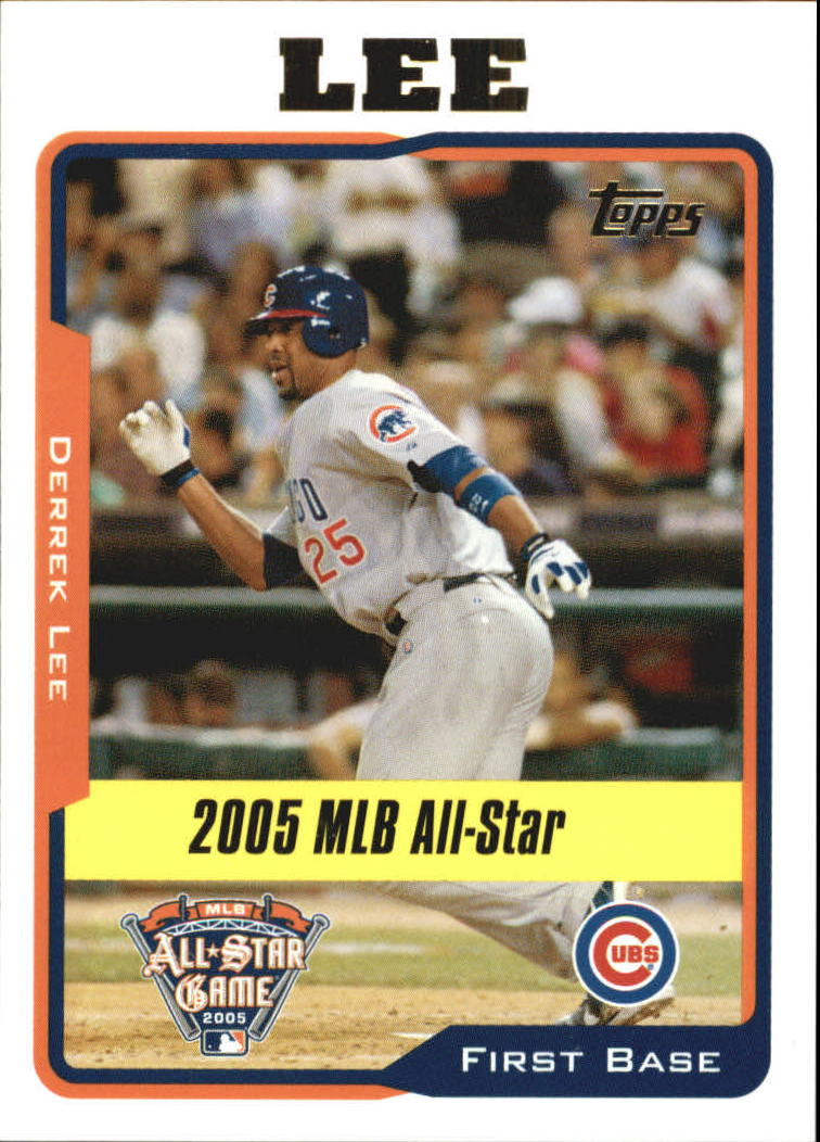 2005 Topps Update #188 Derrek Lee AS