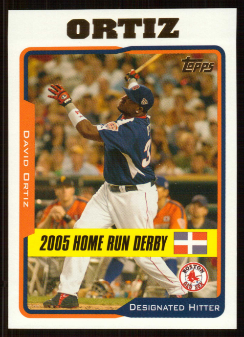 2005 Topps Update #198 David Ortiz HR