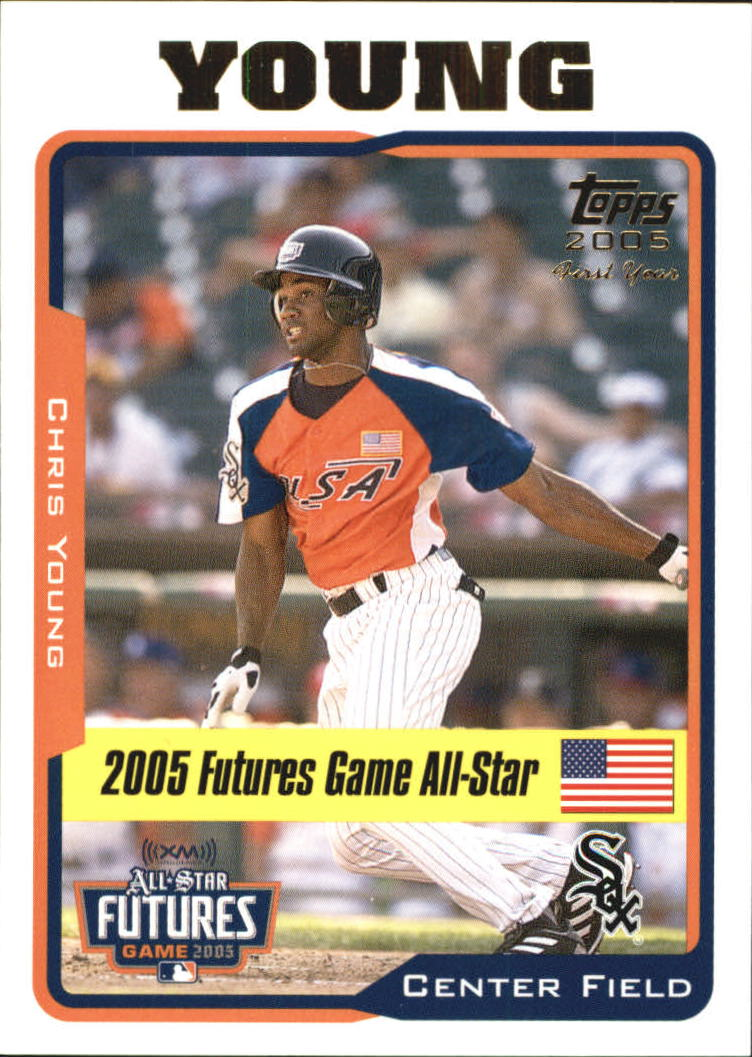 2005 Topps Update #219 Chris B.Young FUT front image