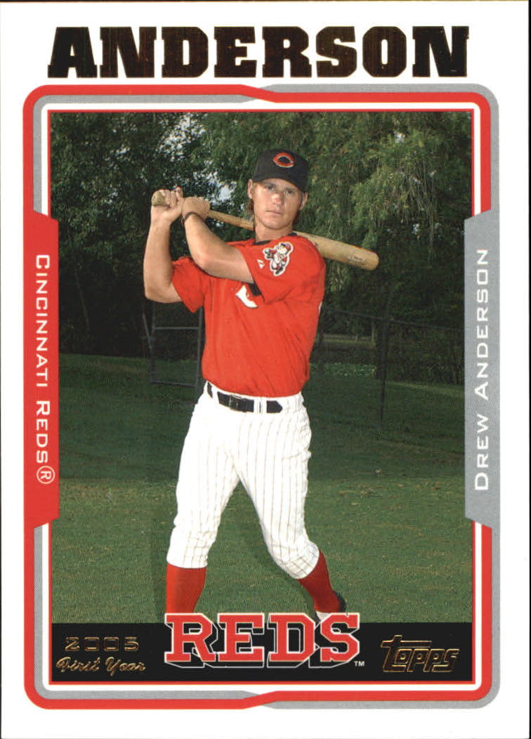 2005 Topps Update #221 Drew Anderson FY RC