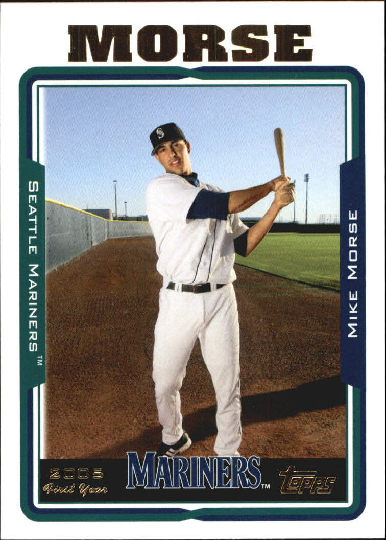 2005 Topps Update #224 Mike Morse FY RC