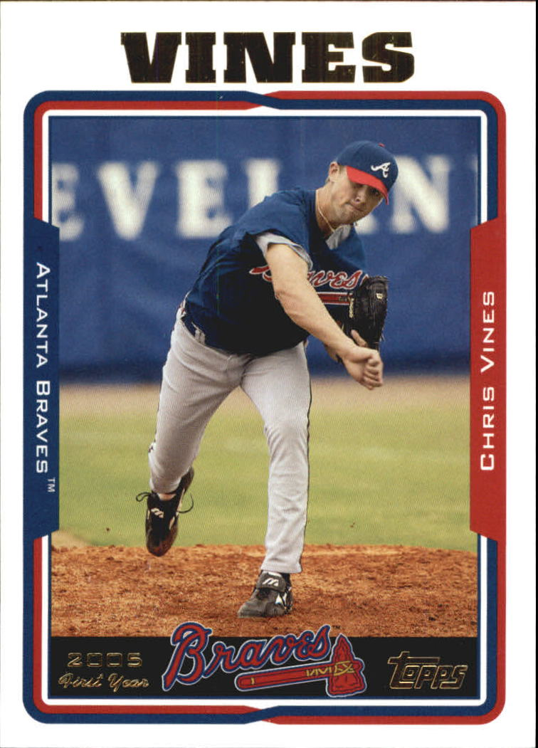 2005 Topps Update #229 Chris Vines FY RC