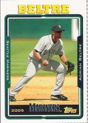 2005 Topps Update Box Bottoms #25 Adrian Beltre