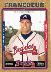 2005 Topps Update Gold #2 Jeff Francoeur