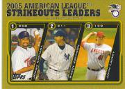 2005 Topps Update Gold #140 Johan/Randy/Lackey AL K
