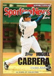 2005 Topps Update Gold #161 Miguel Cabrera AS