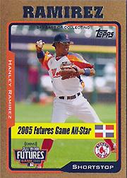 2005 Topps Update Gold #203 Hanley Ramirez FUT