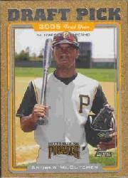 2005 Topps Update Gold #329 Andrew McCutchen DP