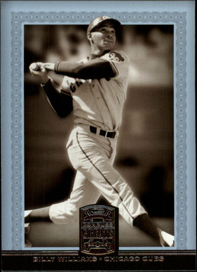 2005 Donruss Greats #6 Billy Williams