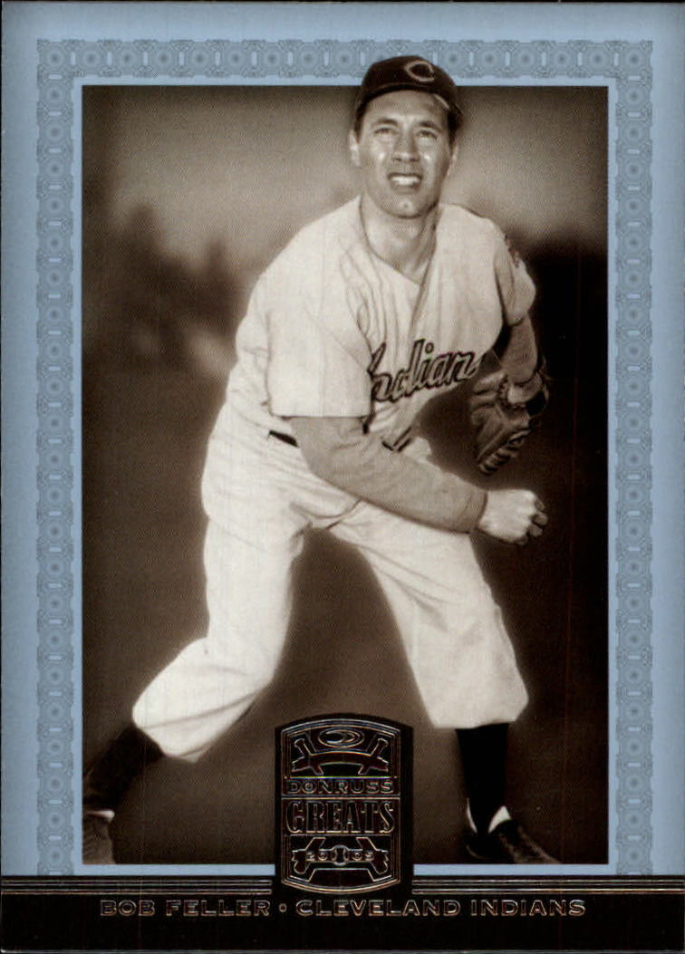 2005 Donruss Greats #8 Bob Feller