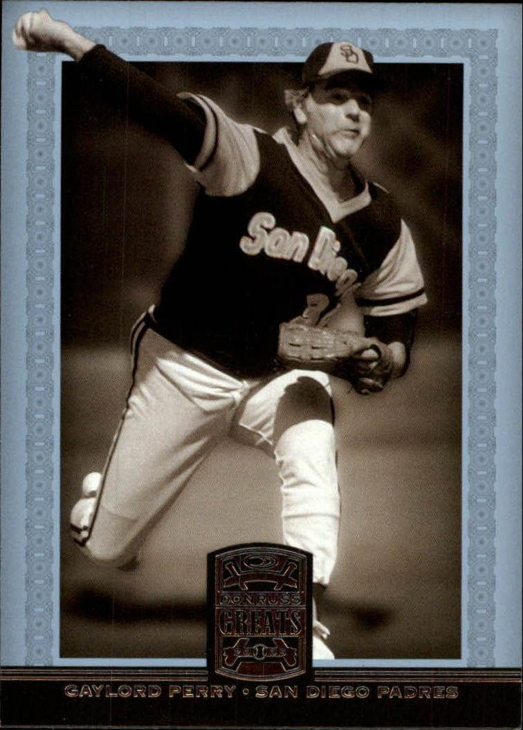 2005 Donruss Greats #29 Gaylord Perry