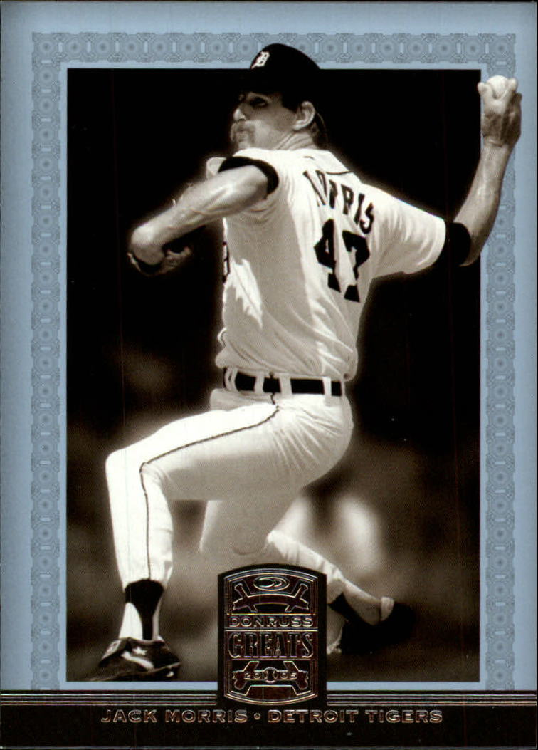 2005 Donruss Greats #36 Jack Morris