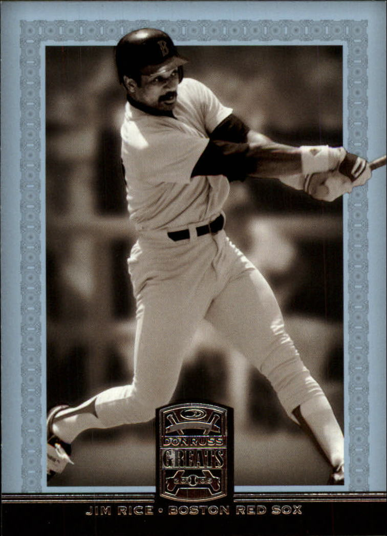 2005 Donruss Greats #40 Jim Rice