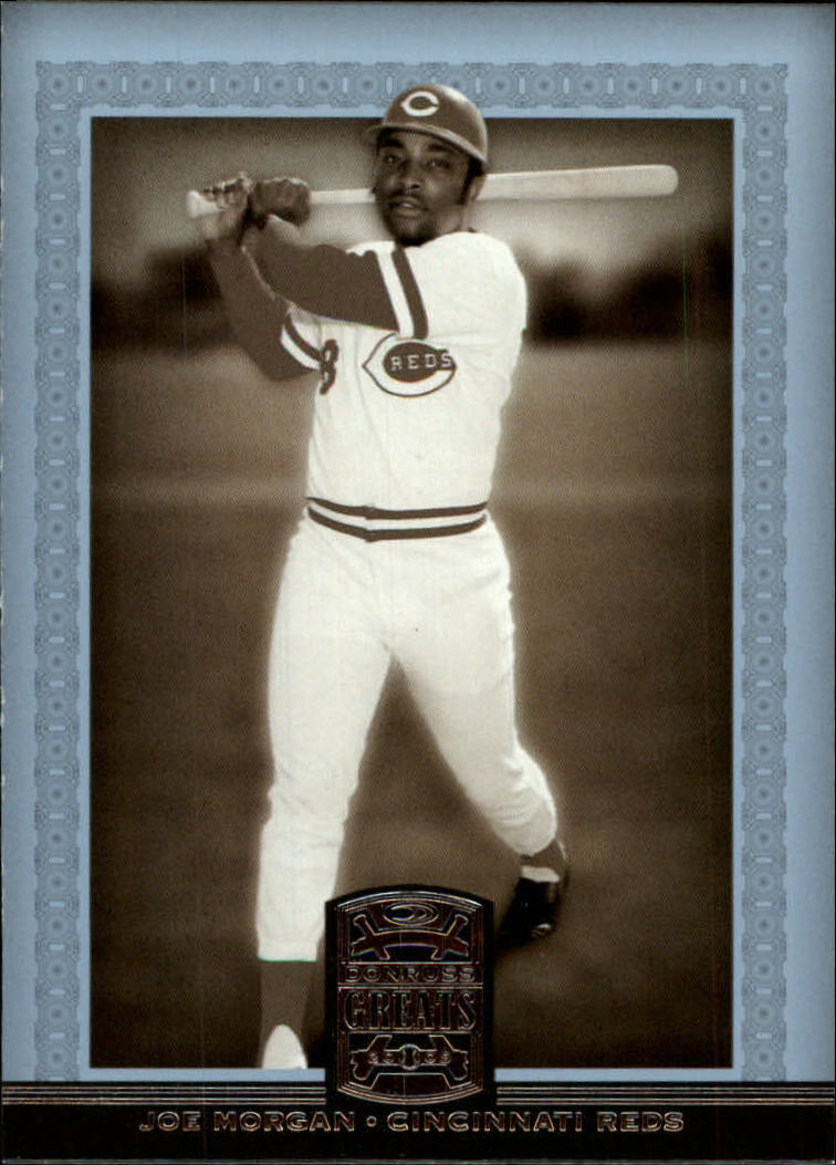 2005 Donruss Greats #42 Joe Morgan Swing