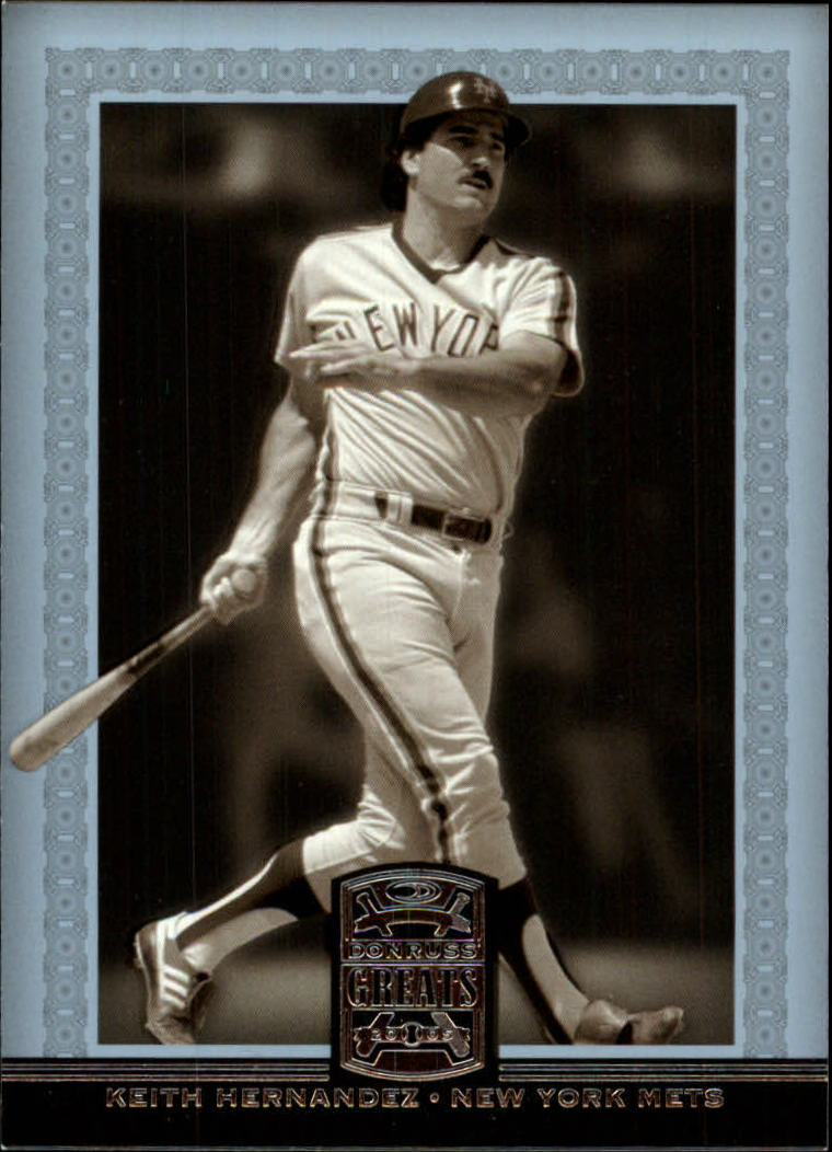 2005 Donruss Greats #48 Keith Hernandez front image