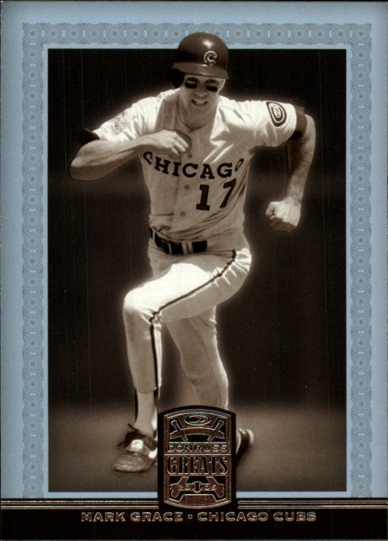 2005 Donruss Greats #55 Mark Grace