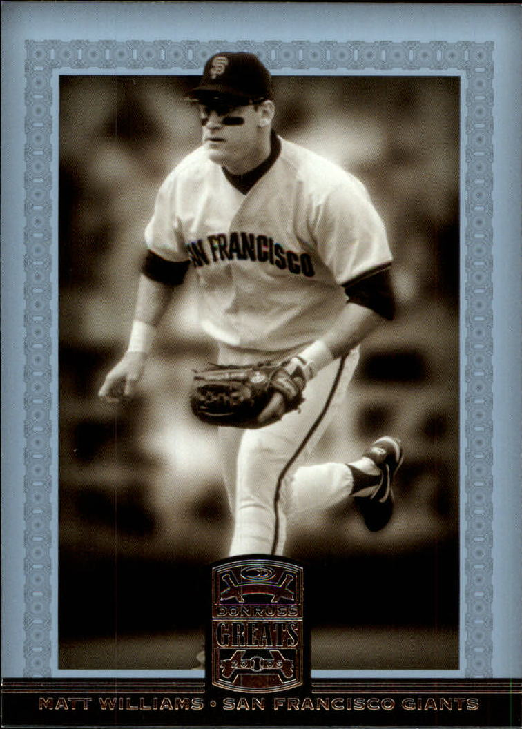 2005 Donruss Greats #57 Matt Williams