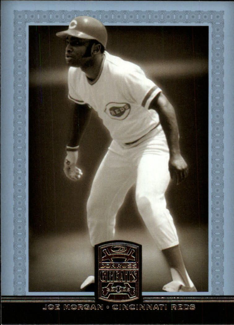 2005 Donruss Greats #98 Joe Morgan Stand
