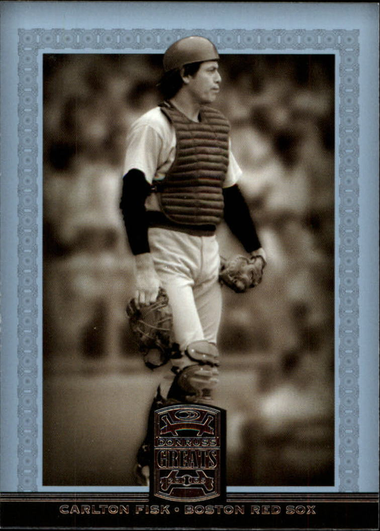 2005 Donruss Greats #99 Carlton Fisk