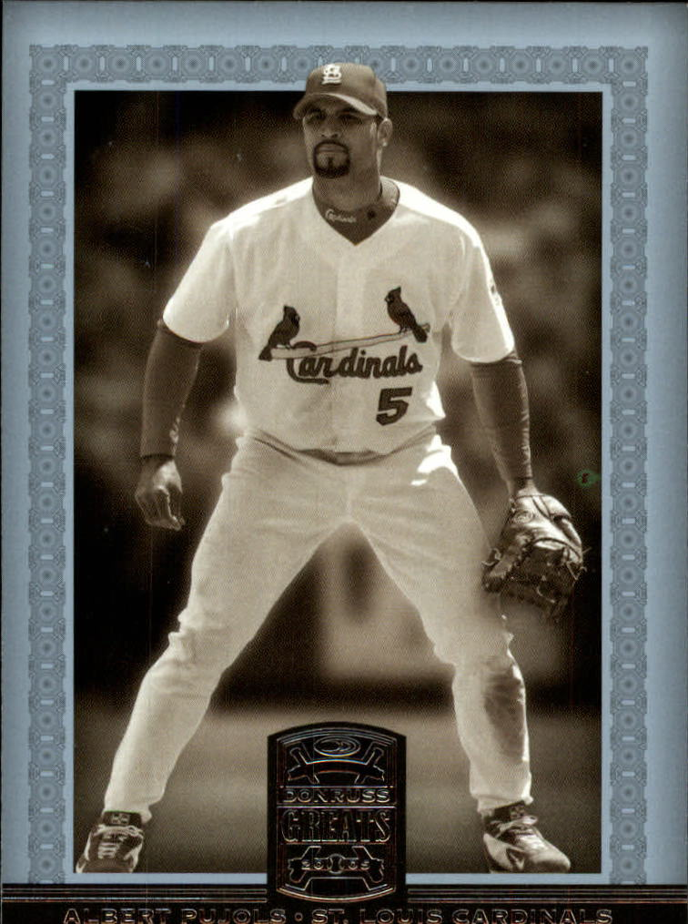 2005 Donruss Greats #104 Albert Pujols