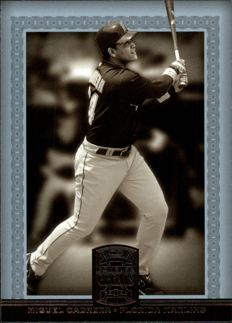 2005 Donruss Greats #115 Miguel Cabrera